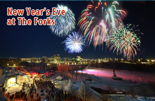 New Years' Eve at the Forks
