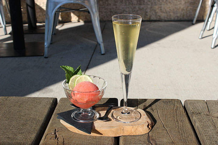 Patio season at SMITH is the ideal après-anything