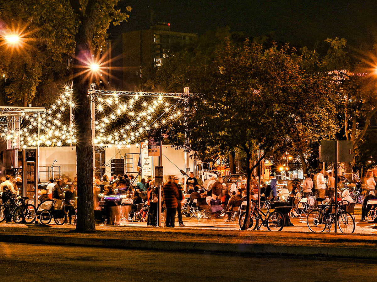 Almost too much to do at Downtown Winnipeg's ManyFest - ManyFest - credit Valery Dyck