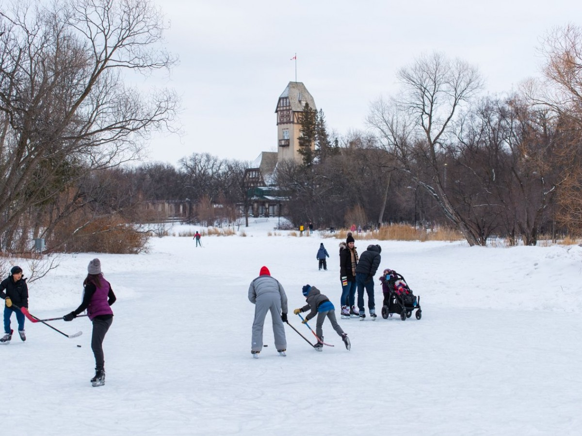 20 ways to experience winter in Winnipeg for 2020 - The Riley Family Duck Pond in Assiniboine Park is like a Canada postcard in winter (photo by Mike Peters)