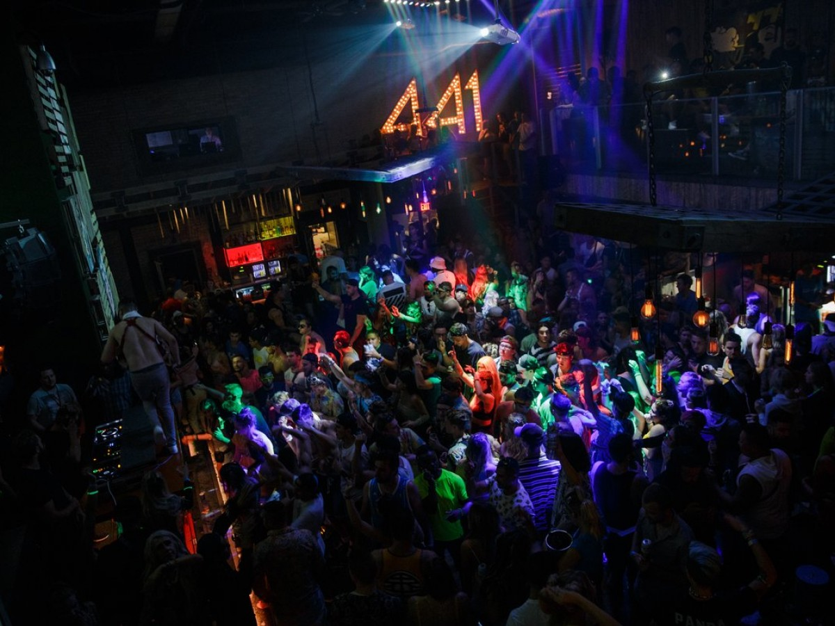 For college kids the party is in The Peg this Spring Break  - 441 Main is always packing the dance floor (photo by Henry Quach)