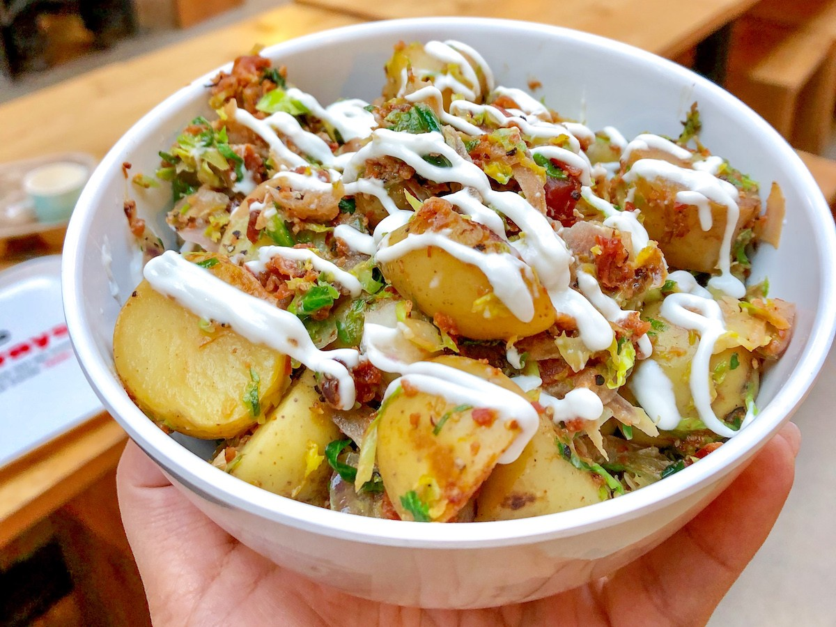 This spud's for you: MB taters made greater during Potahto Week - Simon's Potahto Bowl from Simon's Steaks in The Forks (photo courtesy of Dashboard MEDIA Agency)