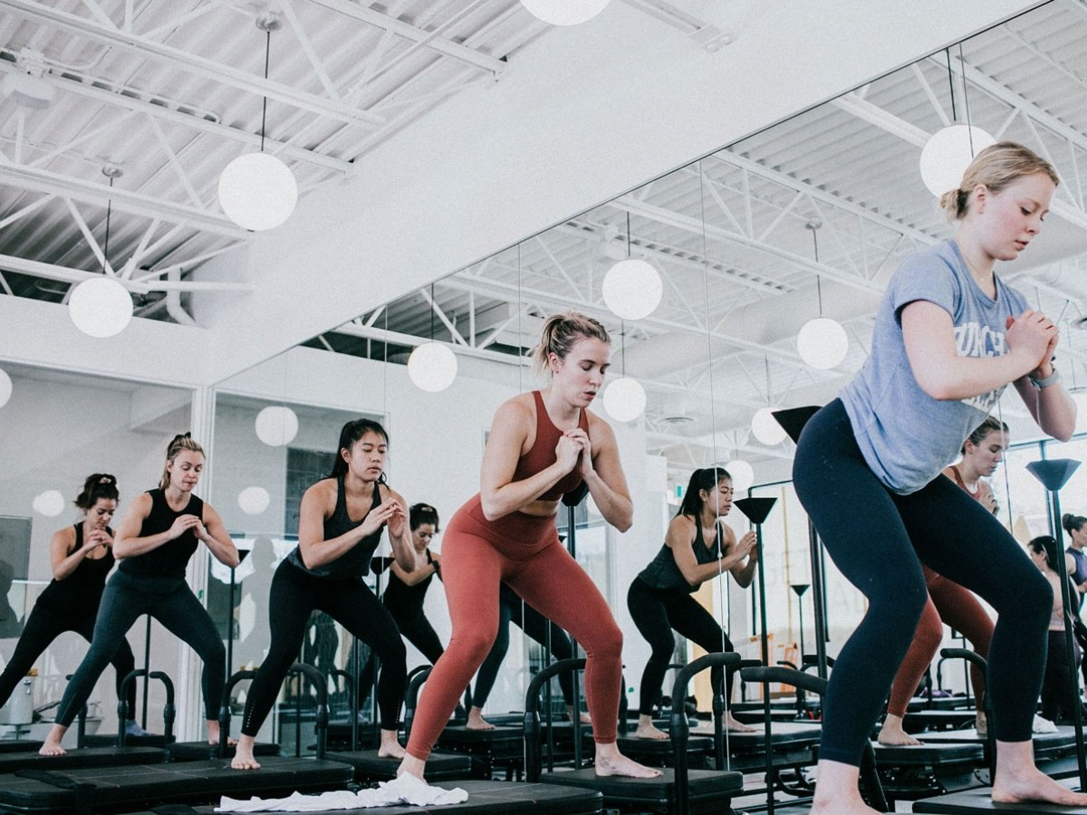 Never miss a workout in Winnipeg  - A Lagree class in session at The Fituals (Prairie Glow Photography)