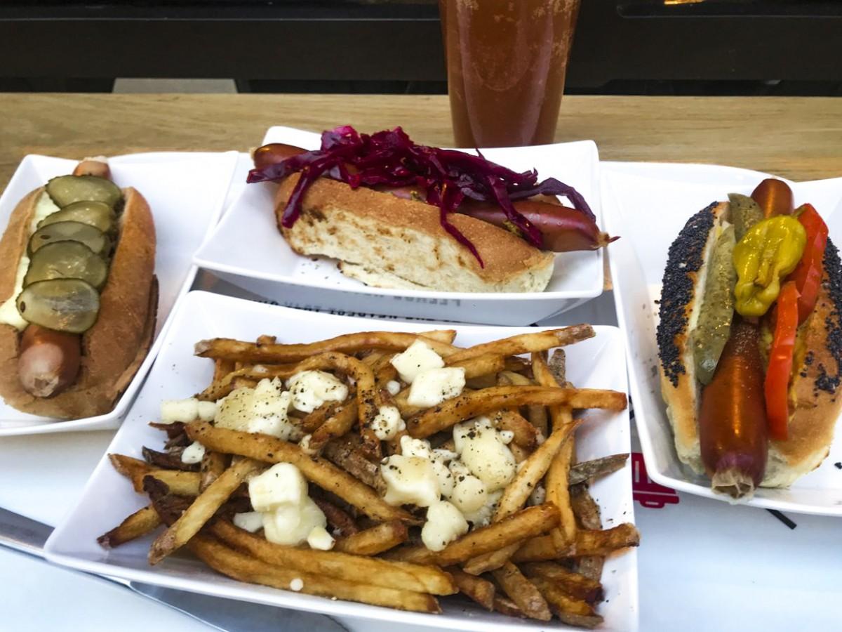 Wienerpeg brings fancy farm-to-table franks to The Forks - A selection of offerings from Wienerpeg