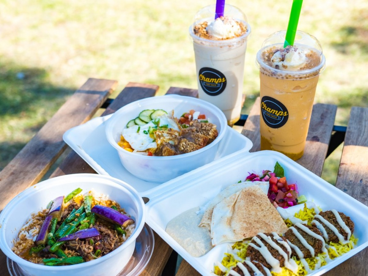 Peg City Grub's 2020 Winnipeg Food Truck Guide - A mighty fine selection from Champs food truck (photo by Kristhine Guerrero)