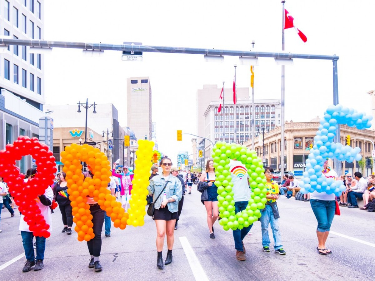Here's how you can still celebrate Pride Month in Winnipeg - Participants in the 2019 Winnipeg Pride Parade (photo by Kristhine Guerrero)