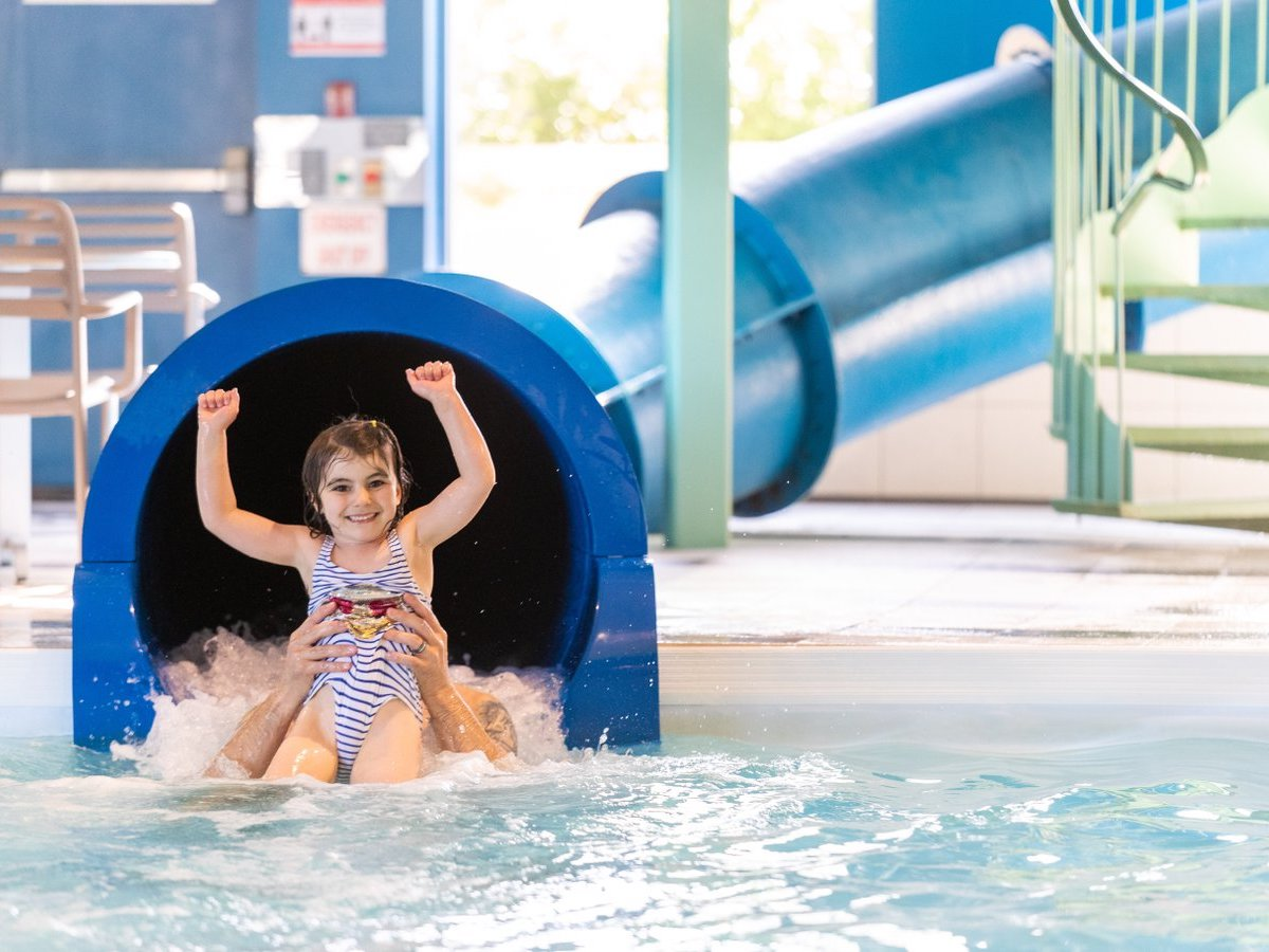 24 hours for families: A nice way to spend a day in Winnipeg - Stay overnight at a place with an indoor waterpark (photo: Mike Peters)