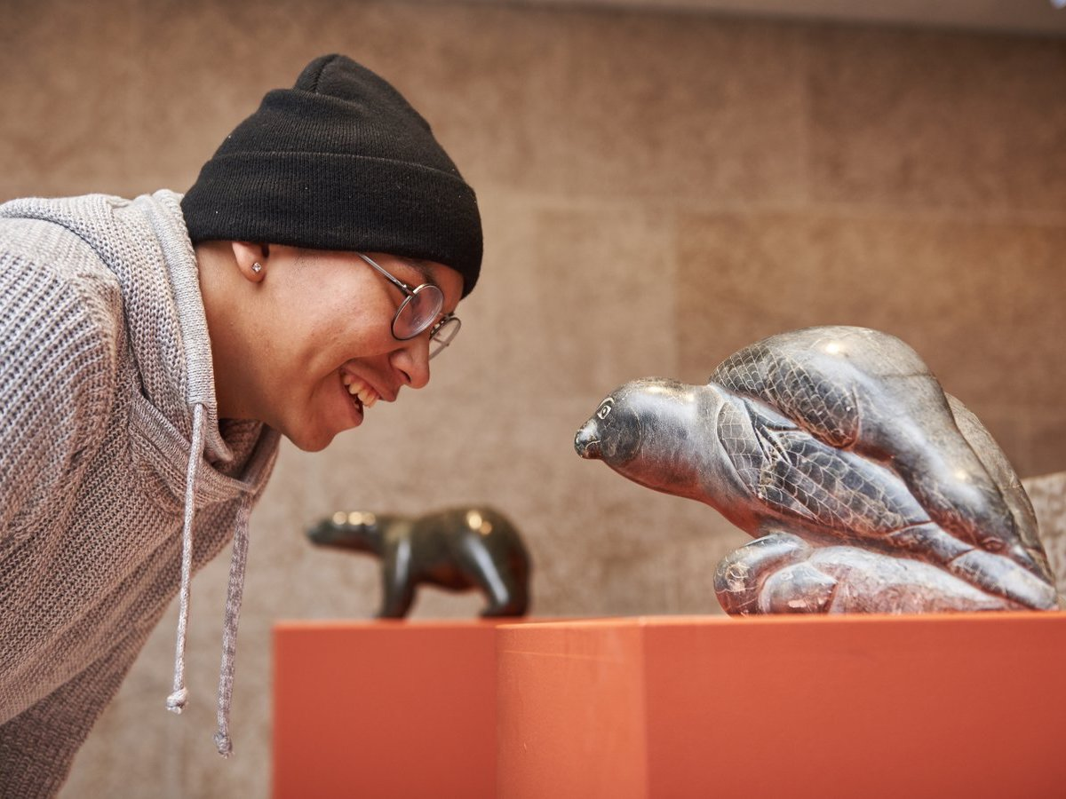 ​Experience Indigenous Winnipeg through history, art, shops and food - See more than 13,000 pieces of contemporary and traditional Inuit artwork at the Winnipeg Art Gallery (photo: WAG)
