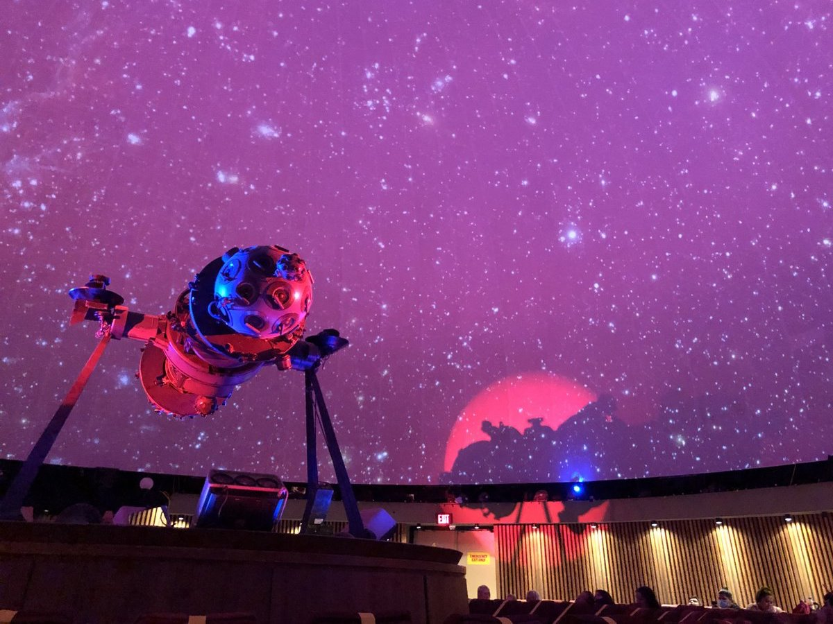 ​Explore the day away at the Manitoba Museum and Planetarium - Space out and settle in as the Planetarium brings you under Manitoba's night sky any time of day. (Photo: Carly Peters)