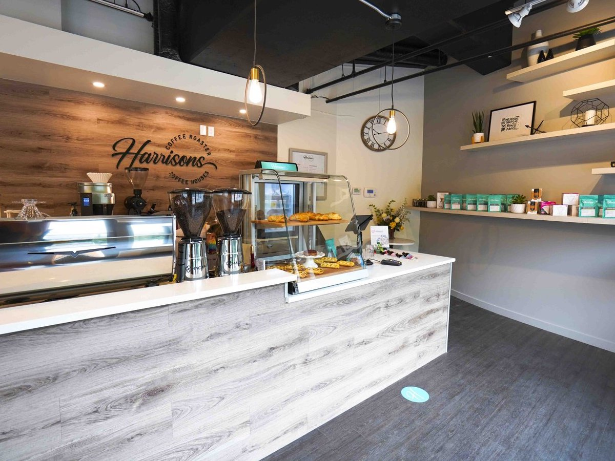 The East Exchange is a real grind  - New to the neighbourhood is Harrisons Coffee Co. on Waterfront Drive (photo: Maddy Reico)