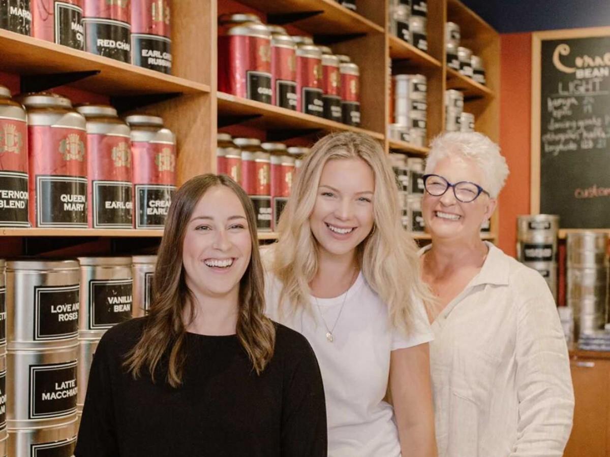 A Family Affair: mother-daughter duos do it better - Kelli, Brooklynn and mom Cory are the female force behind Cornelia Bean tea. (photo: Cornelia Bean)