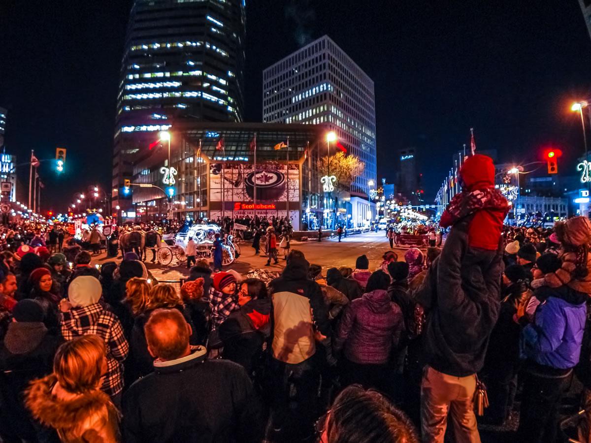 The Winnipeg Santa Claus Parade is magic - Santa Claus Parade - credit Valery Dyck