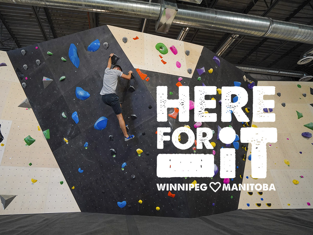 The Hive is the place to climb and we are here for it! - Conquer your fear of heights and learn how to boulder at The Hive (photo: Tyler Walsh)