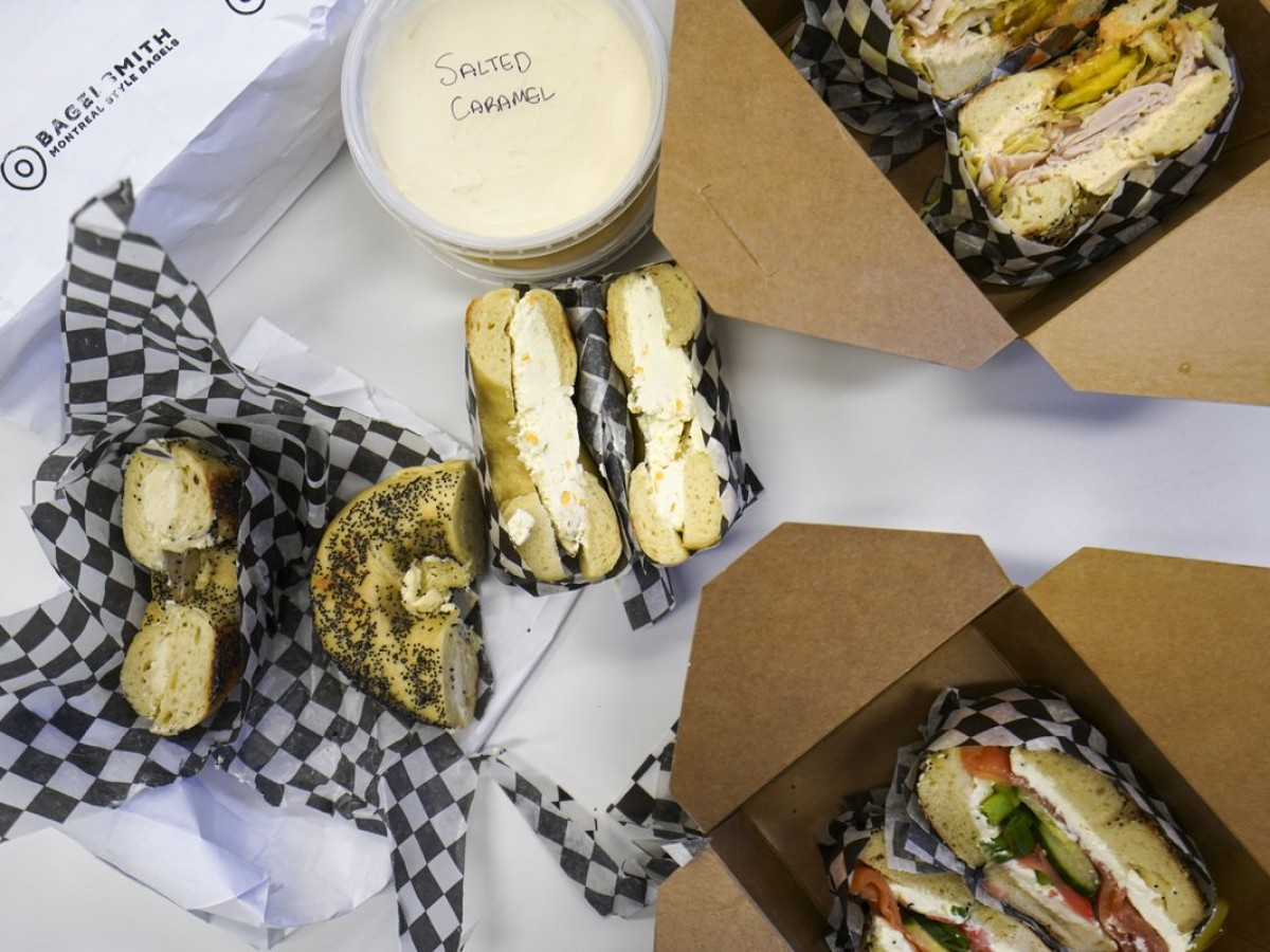 Bagel tasting notes from the hole-iest new shops  - Downtown Winnipeg's Bagelsmith serves up schmears, spreads and bagel sandwiches.