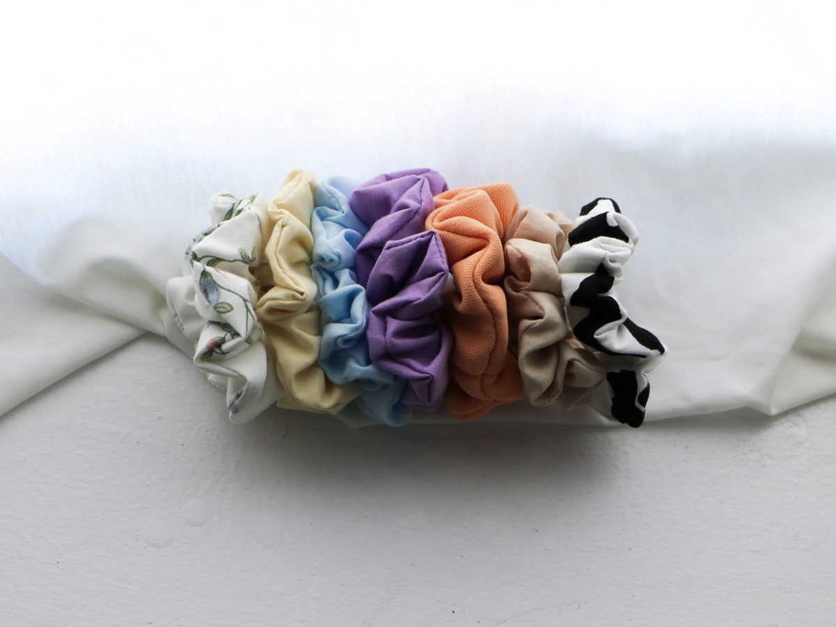 Local shopping guide: Accessories - Someday Accessories create handmade scrunchies from locally sourced materials.
