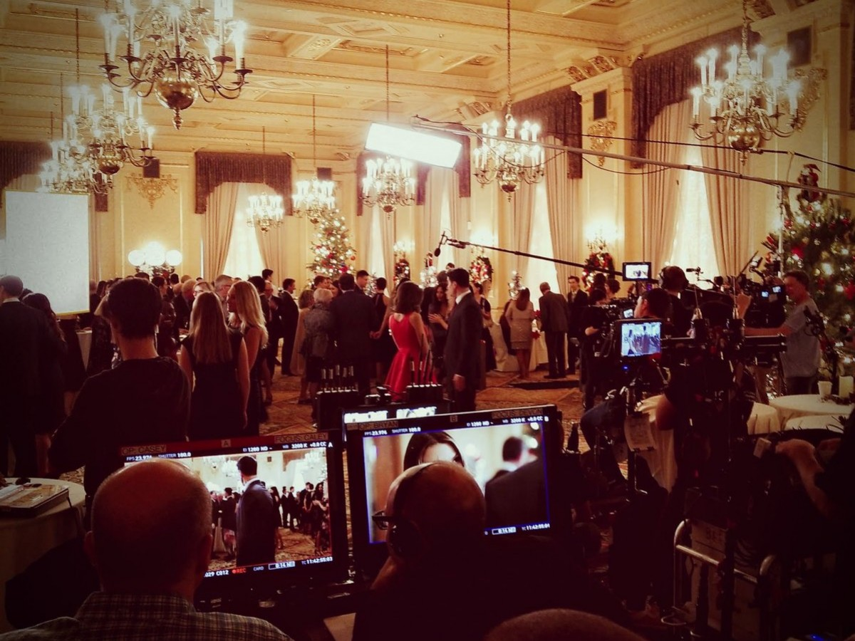 Hallmark movie star Melissa Elias guides us through this year's films  - Behind the scenes of Once Upon a Christmas Miracle at The Fort Garry Hotel (Melissa Elias)