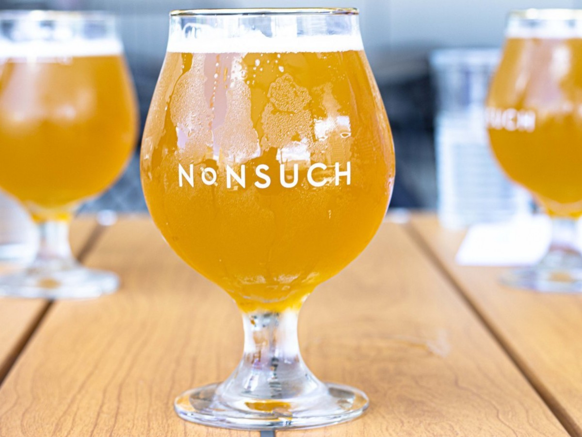 The best things we drank in 2020 - Nonsuch Beer's Mango Kettle Sour was our hazy gateway to sour sipping all summer.