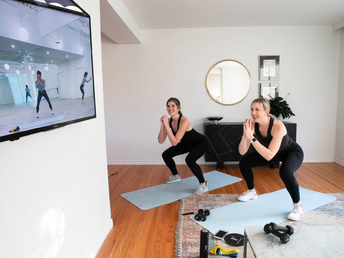 Ten local studios offering virtual workout classes - Join former RWB dancer Chalnessa Eames online with her The Fitual: Anywhere classes for just $24/month (photo courtesy of The Fituals)