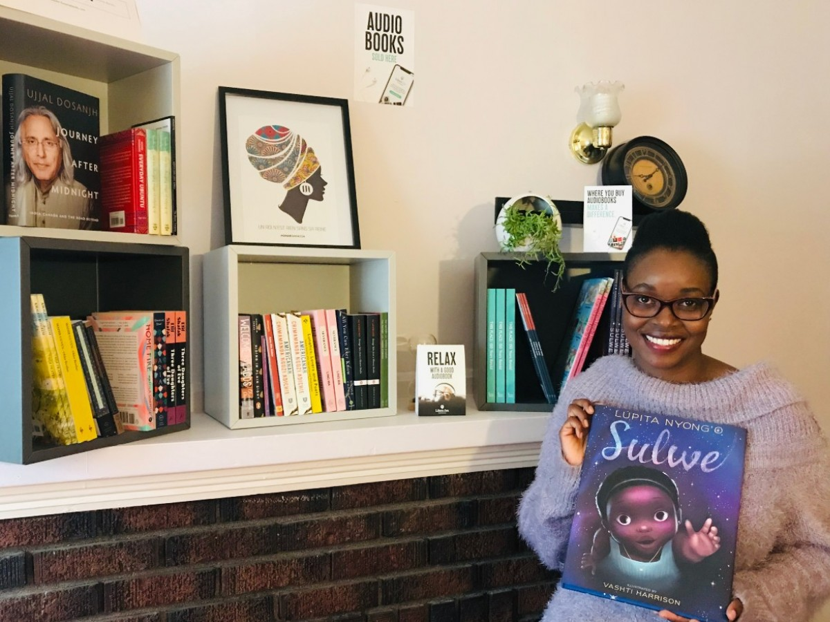 ​Online Winnipeg bookstore celebrates diverse titles, authors  - Tusome Books owner Valerie Chelangat (photo courtesy of Tusome Books)
