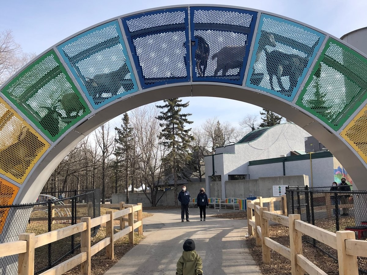 All the big attractions are back for March break in Winnipeg - Zoo Lights at Assiniboine Park Zoo is on until March 28 (photo by Tyler Walsh)