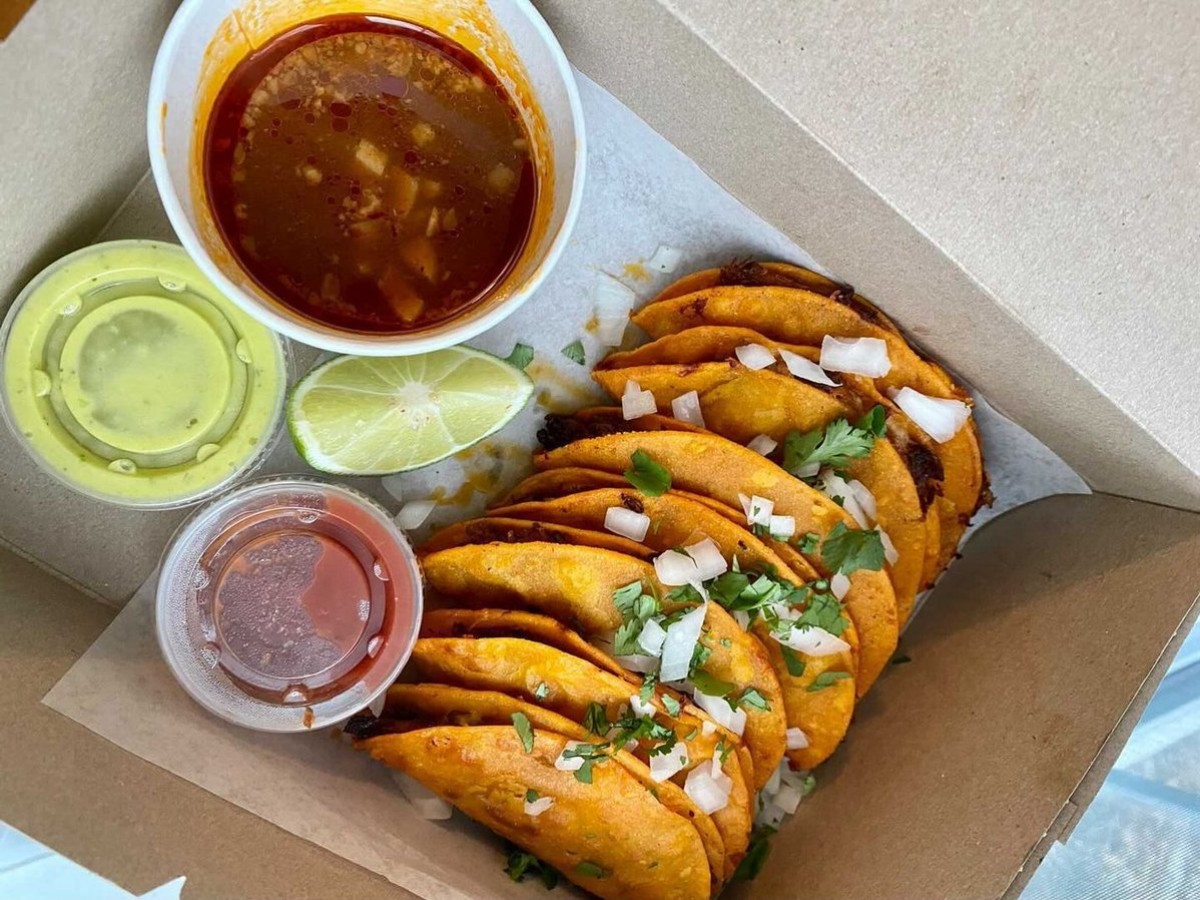 Rolling with new far-flung ghost kitchen options for March - Birria tacos from RaRa Taqueria (photo courtesy of RaRa Taqueria)
