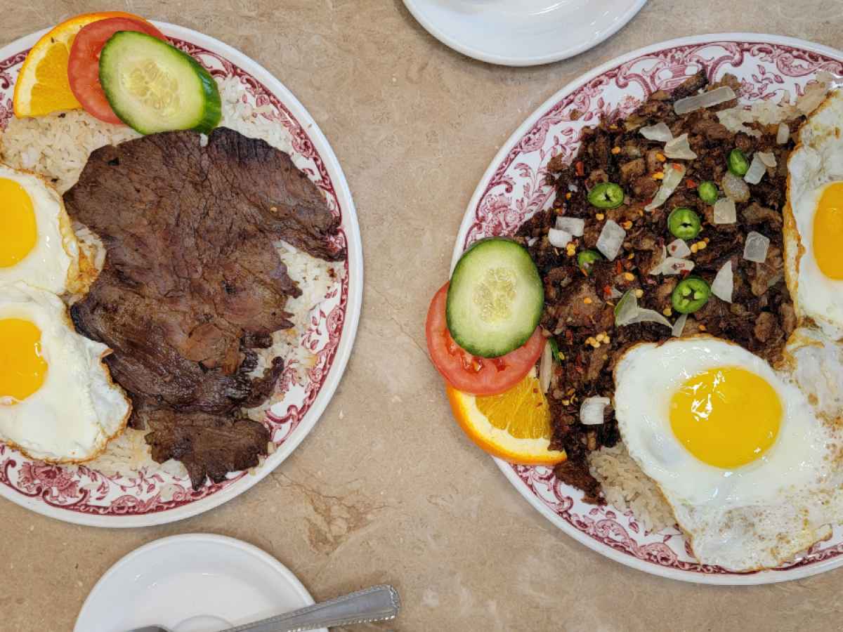 From lumpia to lechon, Winnipeg is like a Little Manila - Pampanga's Filipino Breakfast silog (photo by Carter Chen)