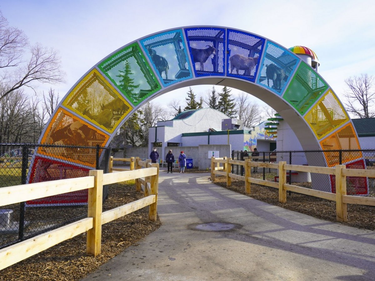 Watch: Kid you not, Aunt Sally's Farm will delight everyone at zoo - Aunt Sally's Farm is now open at Assiniboine Park Zoo (photo: Maddy Reico)