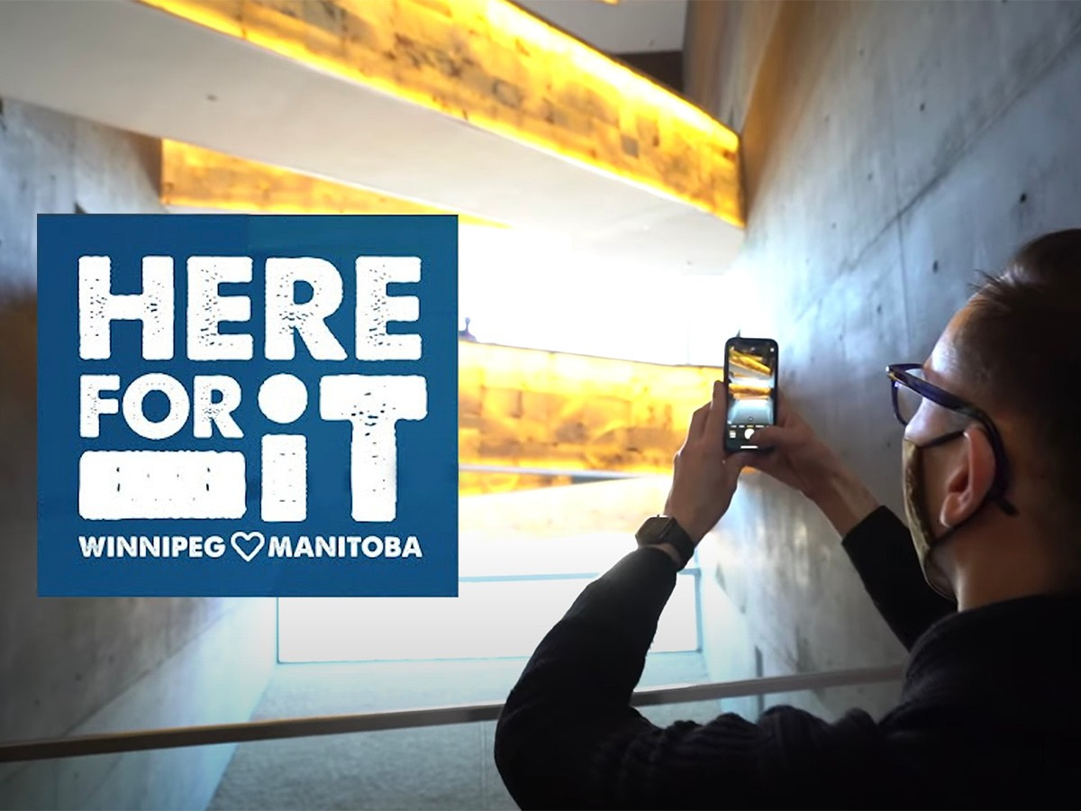 Here for It: The Canadian Museum for Human Rights -