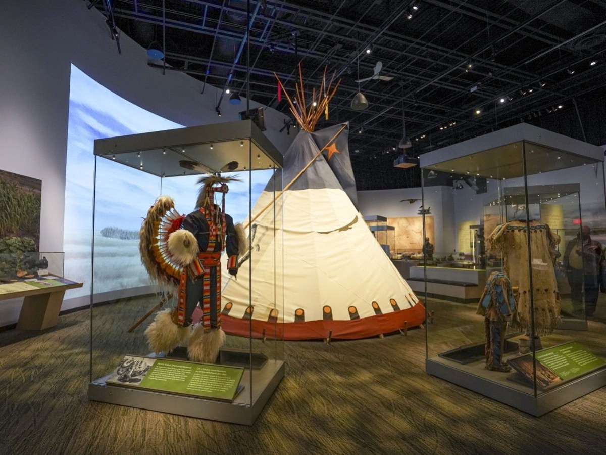 Manitoba Museum's $20.5 million upgrades reap stunning results - The Manitoba Museum's new Prairies Gallery shows history and wide-open spaces (photo: Maddy Reico)