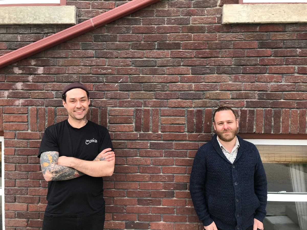 Two Hands plays its hand with proper, London-inspired pop-ups  - Chefs Keegan Misanchuk and Mike Robins have teamed up to create Two Hands a pie and catering company(PCG)