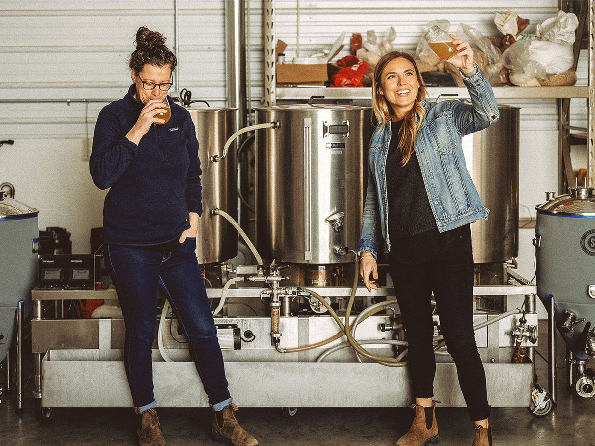 Notable new spots for May - Morgan Wielgosz and Amber Sarraillon have launched Good Neighbour Brewing Co. whose beers are available now (photo courtesy of Good Neighbour Brewing Co.)