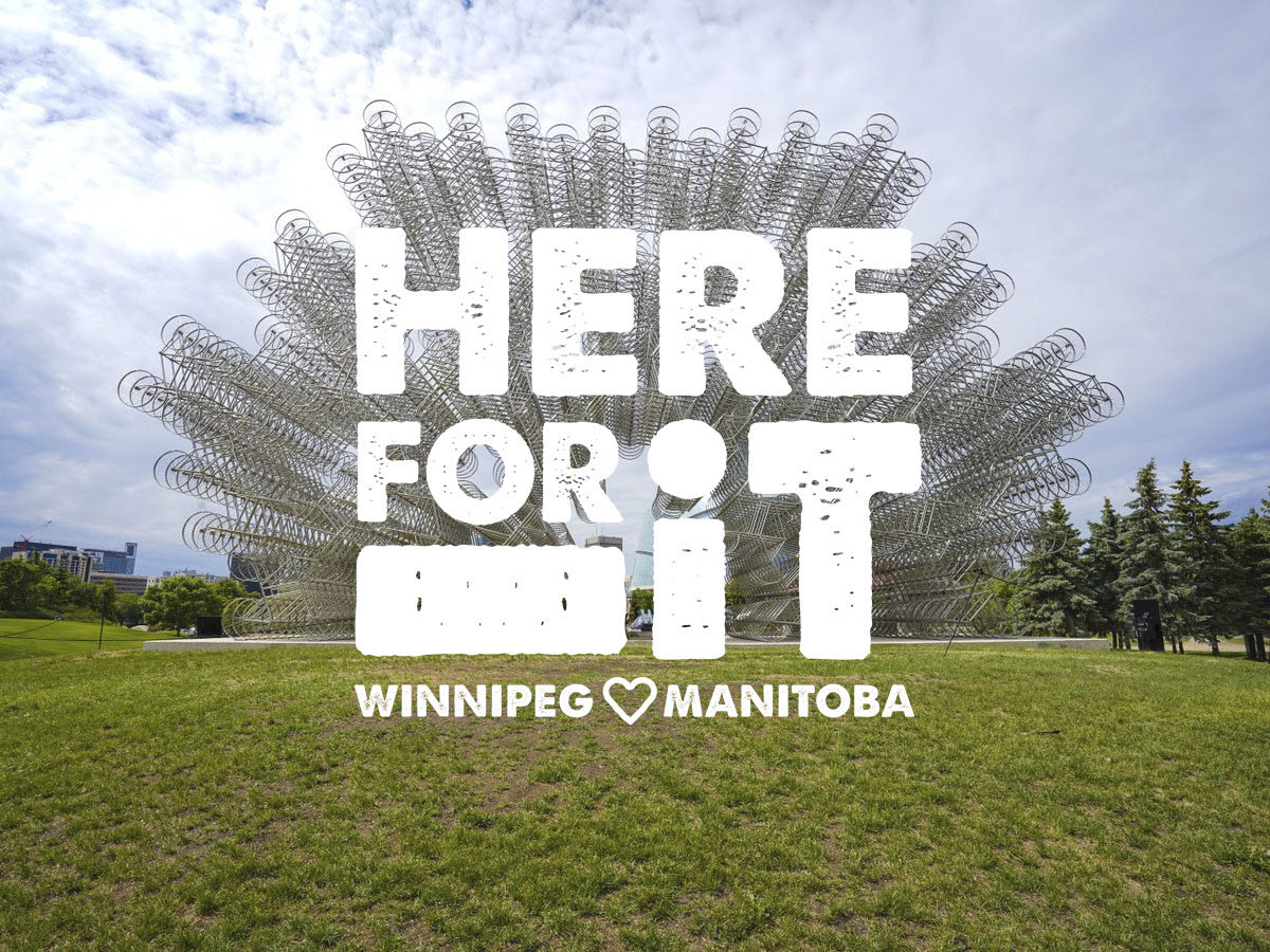 Here for it: The Forks - Take a tour of The Fork's must-see gems, like sculpture