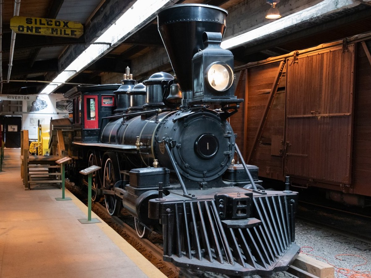 All aboard for the Winnipeg Railway Museum! - The Countess of Dufferin was the first steam locomotive on the Canadian prairies. (Photo by Ellen Paulley)
