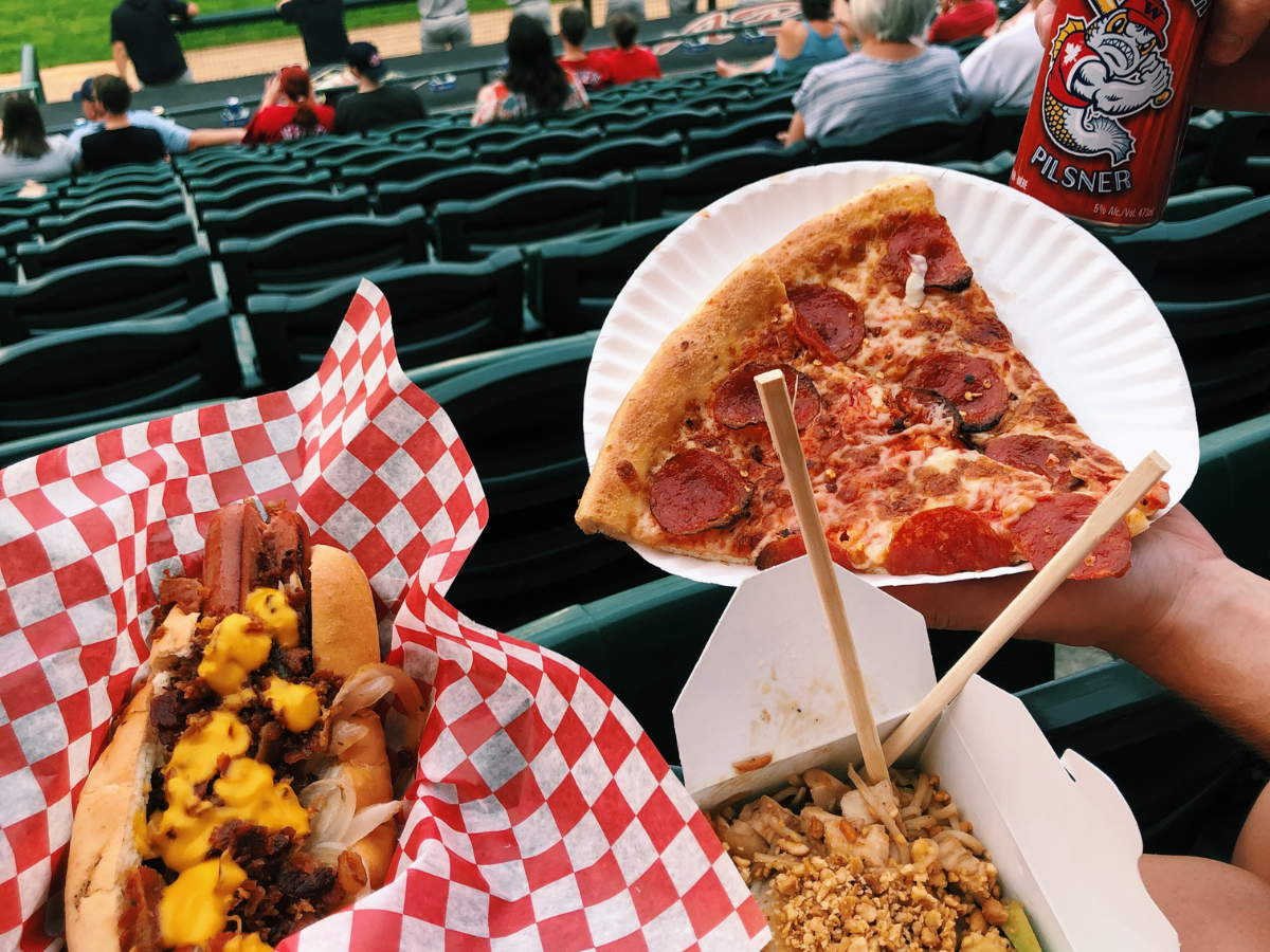 The Winnipeg Goldeyes are back, and so are the concessions! -