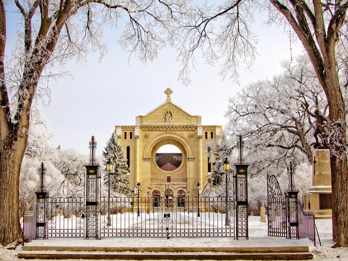 Top 10 Winnipeg Part 1 - St. Boniface Cathedral - credit Kenny Tara