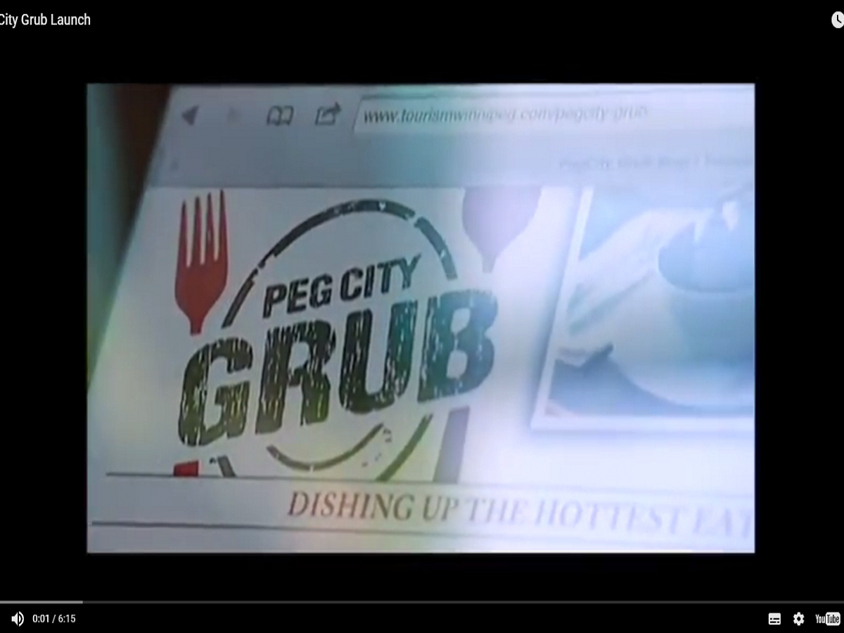 Peg City Grub on Shaw TV - We're also big in Japan