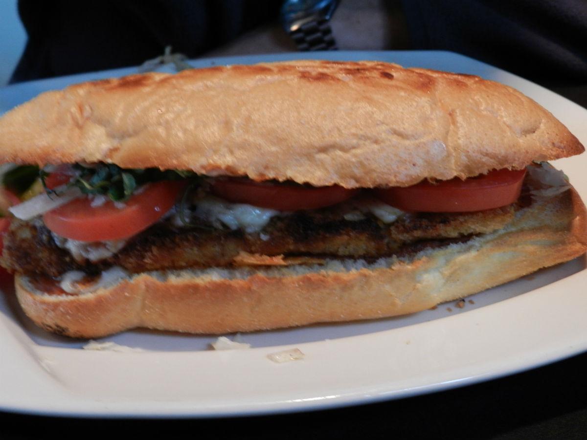 UPDATE: Closed - Deadfish Cafe: Weird Name, Wonderful Food - Bistro Sandwhich