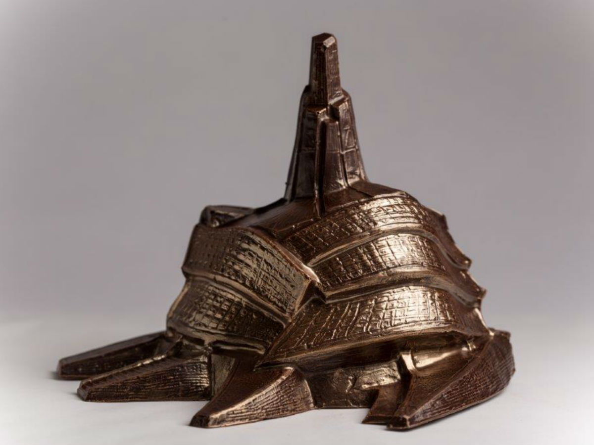 Chocolatier Constance Popp: Cocoa Queen - Canadian Museum for Human Rights chocolate model. *Once held by Justin Trudeau*