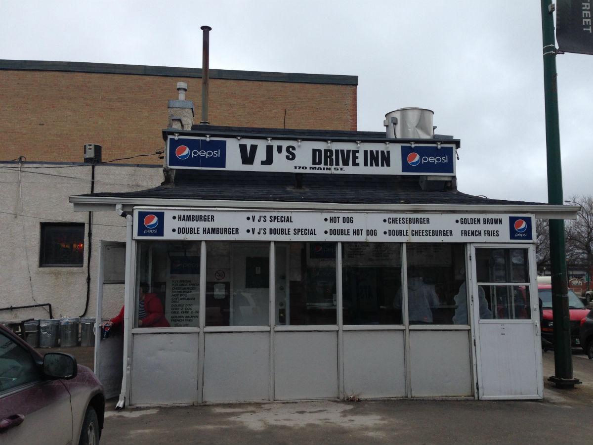 VJs Drive-Inn: Burger Shack Bliss -
