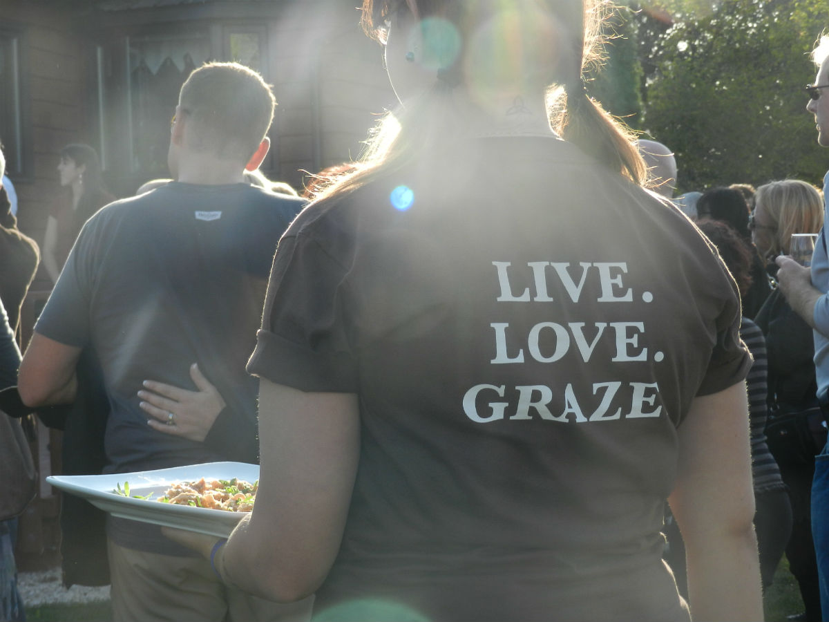 Grazing in the Field: Some Enchanted Evening - Love, live, graze. Well said!