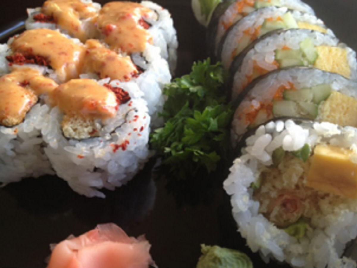 Sushi Ya: Super hero sushi - OMG!