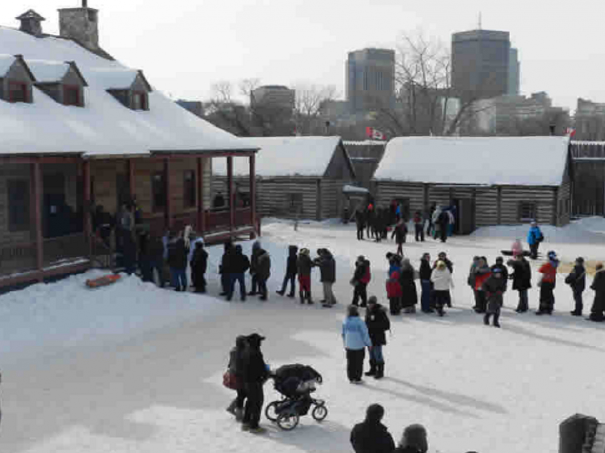 Festival du Voyageur: French food with flare -