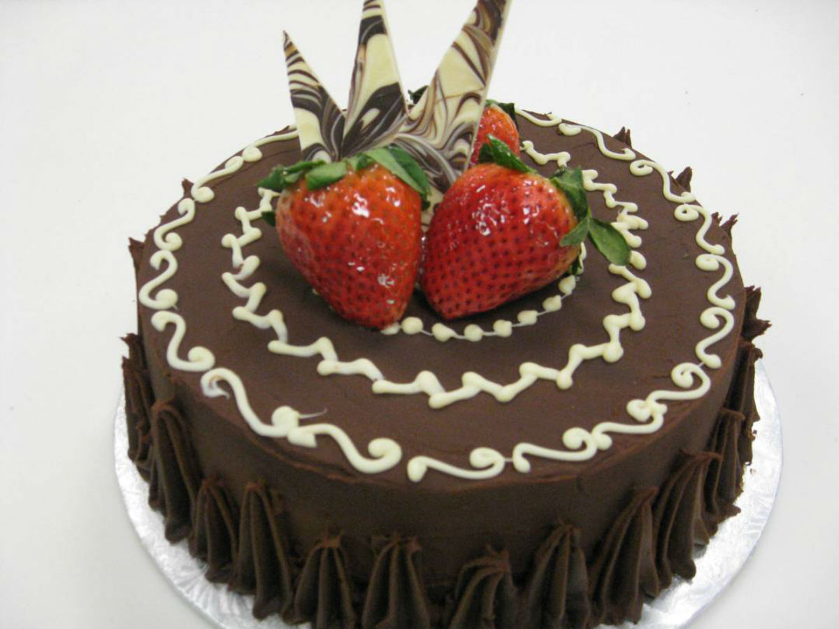 April is chocolate month in Winnipeg - Chocolate Zen cake