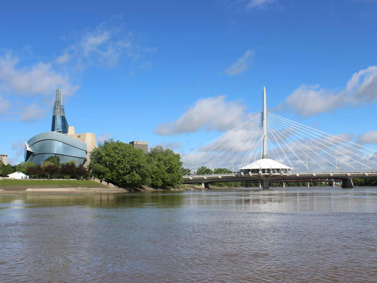 Take a Splash down the Red and Assiniboine Rivers -