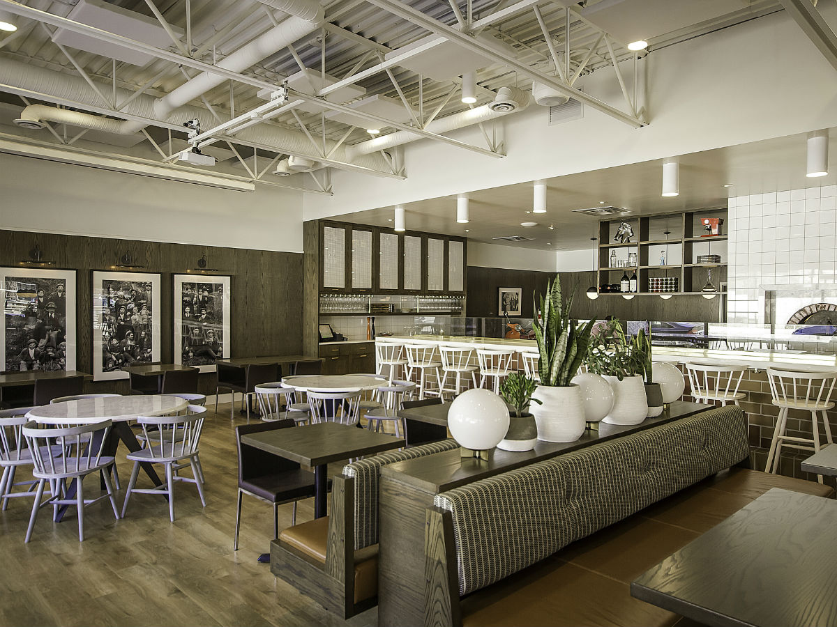 Pizzeria Gusto: Pizza perfection - The brand new updated space of Pizzeria Gusto!