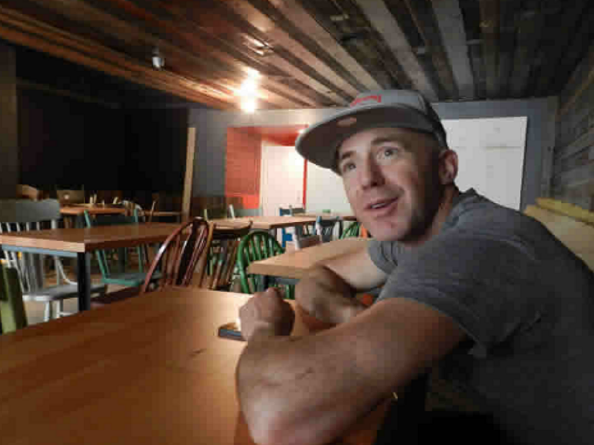 Market Burger: Big guns back new burger joint - Ace Burpee at his co-owned Market Burger, where most of the ingredients are purchased locally.