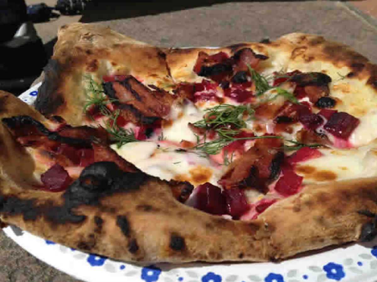 Red Ember: Pizza on a roll - Beetza Pizza by Red Ember