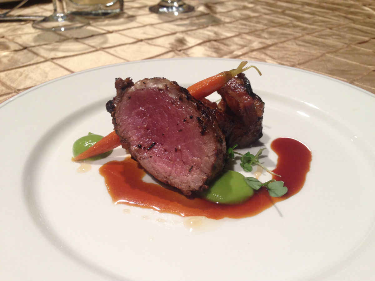 Gold Medal Plates: Winnipeg 2013 Edition - A legendary morsel of beef, that will take you into a new world. Close your eyes and fail to imagine the degree of tender and juicy power of this little guy.