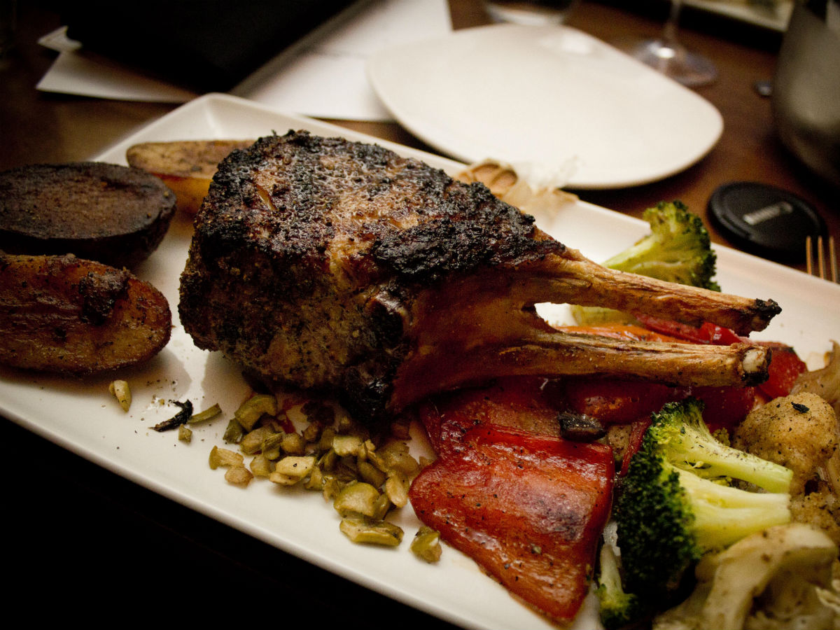 Prairie 360˚ Skyline Restaurant: A new view - Expertly done dish, grilled to perfection.