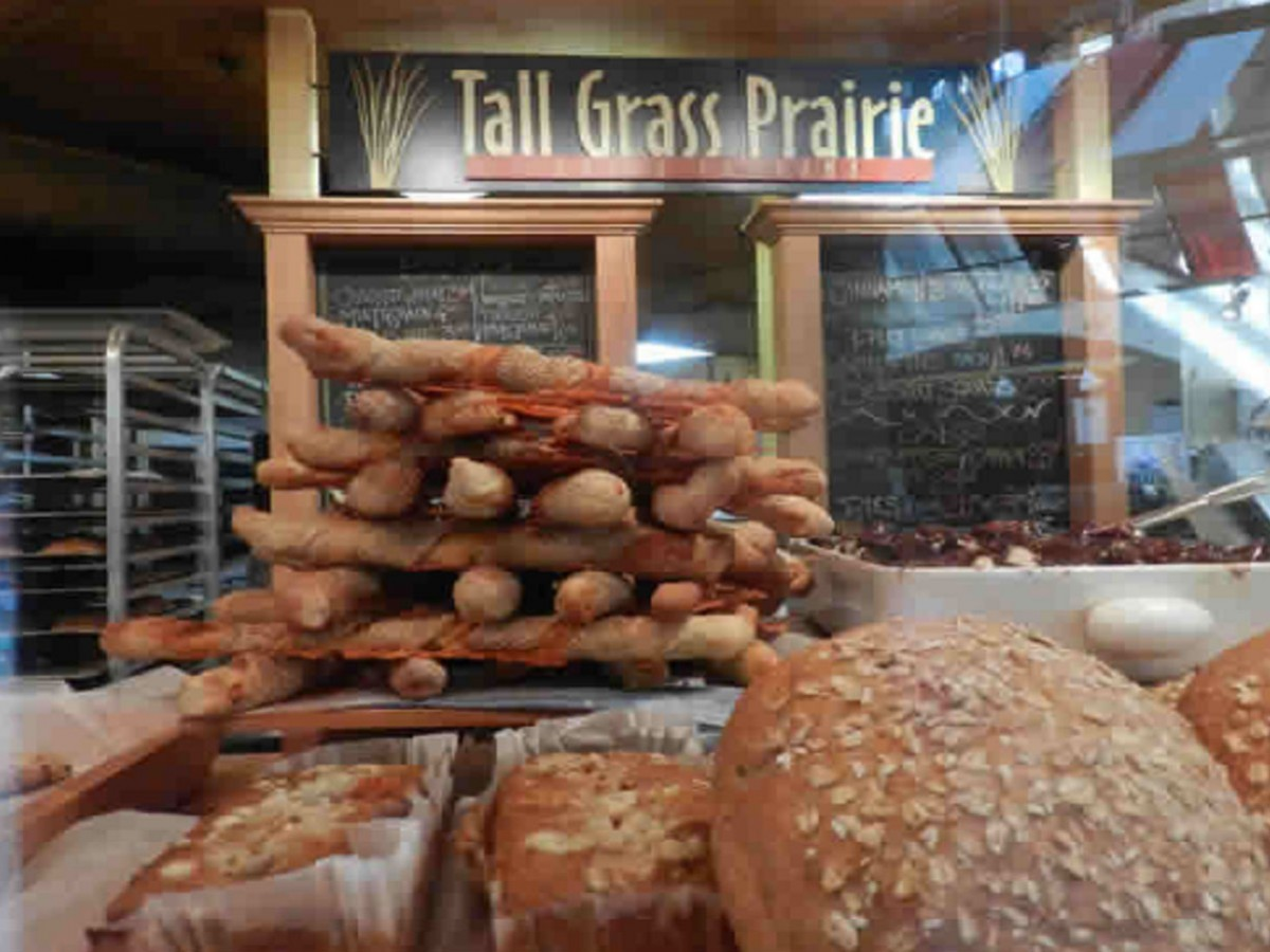 Tall Grass Prairie Bread Company - This architectural wonder of the world, tops the Pyramid's of Giza for it's purely delicious enticement